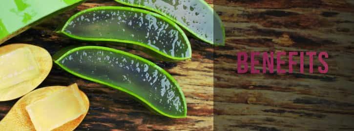 aloe in spoons