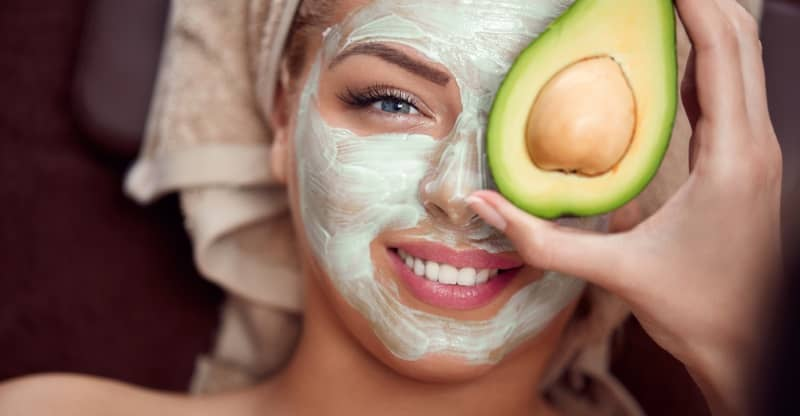 avocado face masks for acne