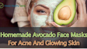 Avocado face masks for acne