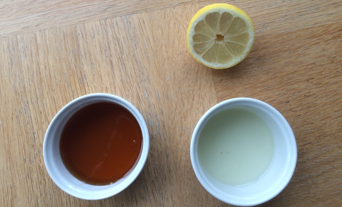 honey and lemon face mask for acne and glowing skin ingredients
